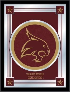Texas State University Logo Mirror