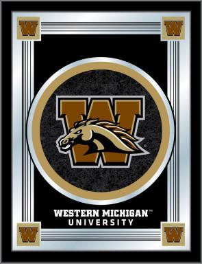 Western Michigan University Logo Mirror