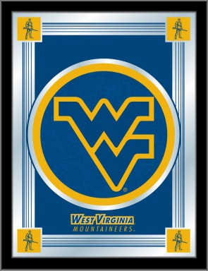 West Virginia University Logo Mirror