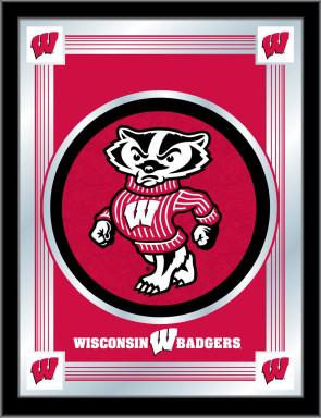 University of Wisconsin - Bucky Logo Mirror