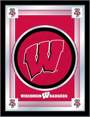 University of Wisconsin - W Block Logo Mirror