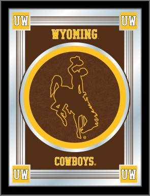 University of Wyoming Logo Mirror