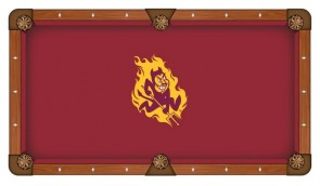 Arizona State Sparky Pool Table Cloth