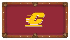 Central Michigan Billiard Cloth