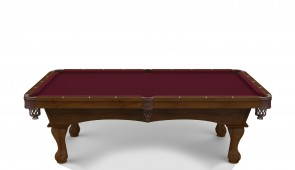 Hainsworth Classic Series - Burgundy Pool Table Cloth