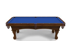 Hainsworth Classic Series   Euro Blue Pool Table Cloth
