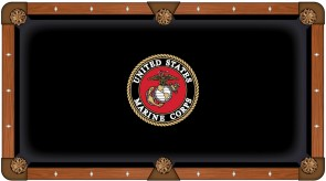 US Marine Corps Pool Table Cloth