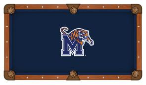 University of Memphis Billiard Cloth