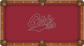 University of Montana Billiard Cloth
