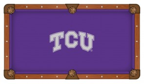 Texas Christian Billiard Cloth