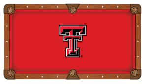 Texas Tech Billiard Cloth
