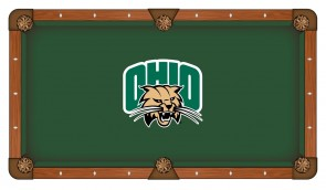 Ohio University Billiard Cloth