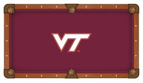 Virginia Tech Billiard Cloth