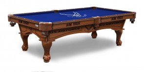 US Air Force Billiard Table With Logo Cloth