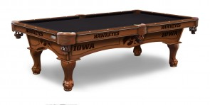 Iowa Hawkeyes Billiard Table