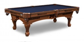 University of Michigan Wolverines Pool Table