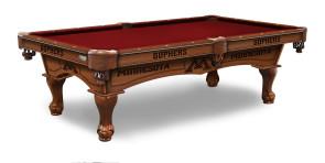 University of Minnesota Gophers Pool Table