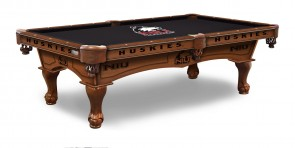 Northern Illinois Billiard Table With Logo Cloth