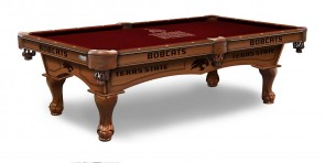 Texas State Billiard Table With Logo Cloth