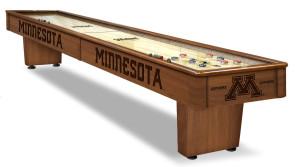 Minnesota Gophers Shuffleboard Table