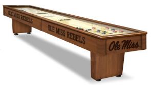 Mississippi Rebels Shuffleboard Table