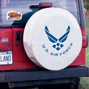 US Air Force White Tire Cover Lifestyle