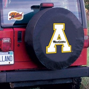 Appalachian State Black Tire Cover Lifestyle