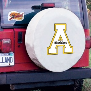 Appalachian State White Tire Cover Lifestyle