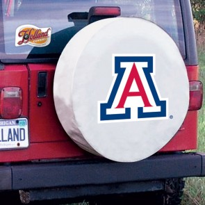 Arizona White Tire Cover Lifestyle