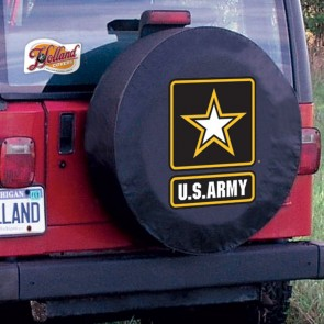US Army Logo Tire Cover - Black