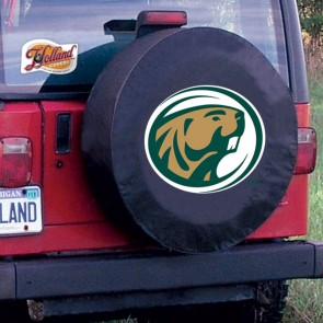 Bemidji State Black Tire Cover  Lifestyle