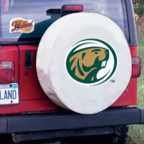 Bemidji State White Tire Cover Lifestyle