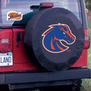 Boise State Black Tire Cover Lifestyle