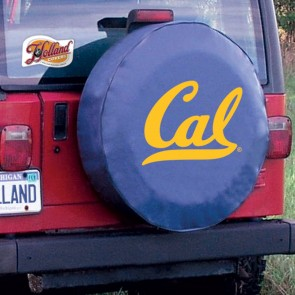 California Navy Tire Cover
