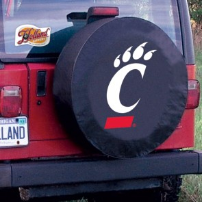 Cincinnati Black Tire Cover Lifestyle