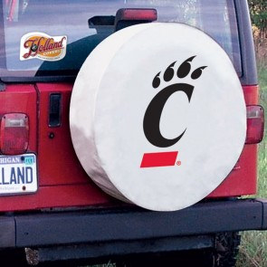 Cincinnati White Tire Cover Lifestyle