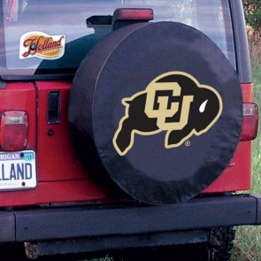Colorado Black Tire Cover Lifestyle