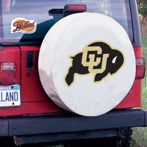 Colorado White Tire Cover Lifestyle