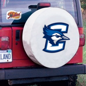 Creighton White Tire Cover Lifestyle