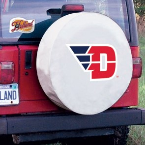 Dayton White Tire Cover Lifestyle