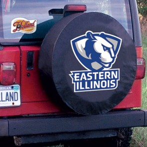 Eastern Illinois Black Tire Cover Lifestyle