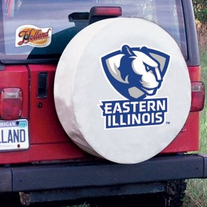 Eastern Illinois White Tire Cover Lifestyle