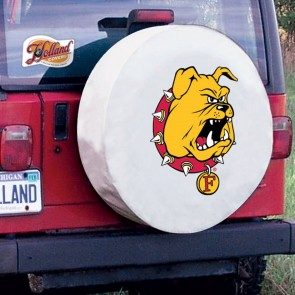 Ferris State White Tire Cover Lifestyle