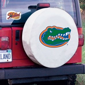 Florida White Tire Cover