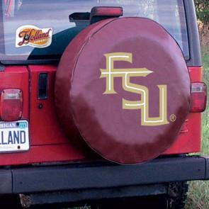 FSU Script Maroon Tire Cover Lifestyle