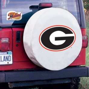 Georgia G White Tire Cover Lifestyle