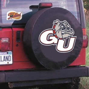 Gonzaga University Logo Tire Cover - Black
