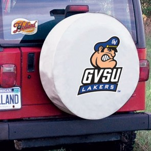 Grand Valley State White Tire Cover Lifestyle