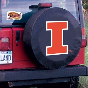 Illinois Black Tire Cover Lifestyle