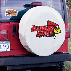 Illinois State White Tire Cover Lifestyle